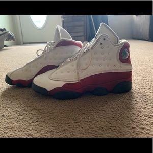Cherry red Jordan 13s